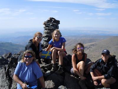 Los Tres Picos Camping Aug 2017