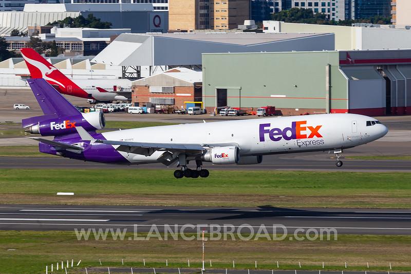 FedEx MD-11F - N606FE - SYD