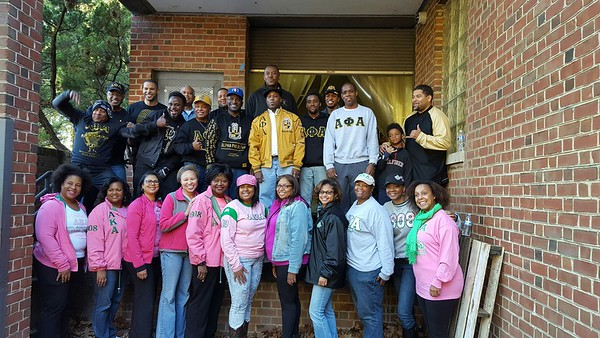 2016 Make A Difference Day ΞΑΛ AΦA & ΦΝΩ AKA