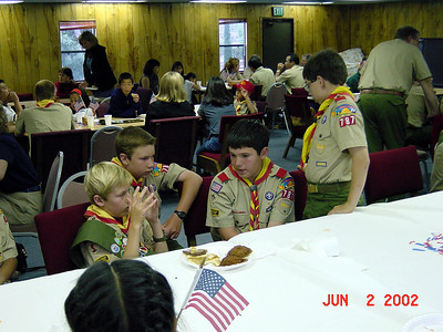 6/2/2002 - Summer Court of Honor