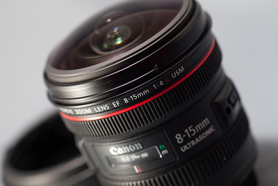 Canon 8-15mm f4 fisheye Lens