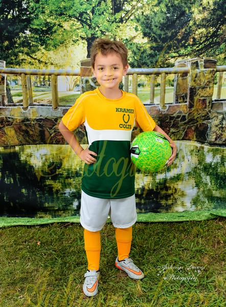KB Kramer Colts  - TNYMCA Soccer Spring 2016