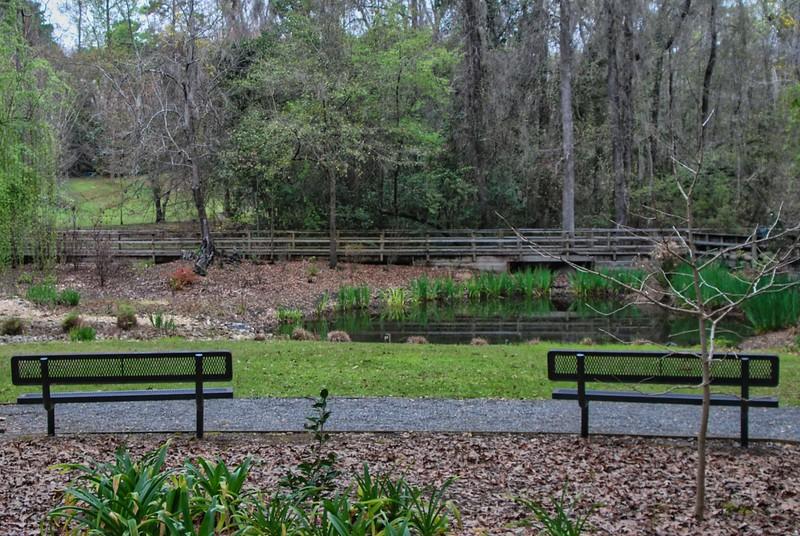 Pond and boardwalk Dorothy Oven Park