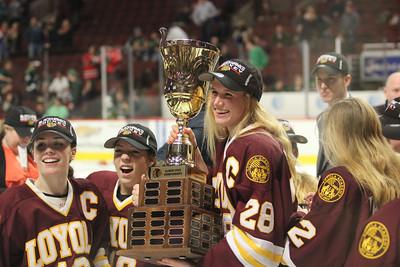 Girls' Hockey vs. Barrington State Finals