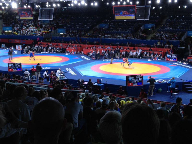 Day 13 - ExCel London for Freestyle Wrestling.