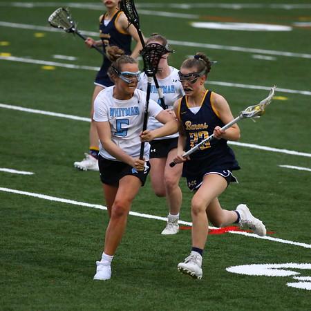 20190412 Varsity Girls Lacrosse BCC at Whitman