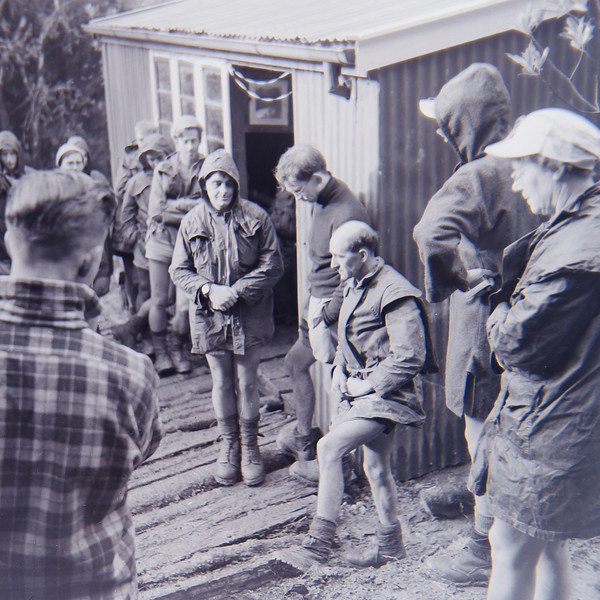 1956 May 19 - Opening Renata Hut  - Arthur Thompson (3rd Right) (LF trans) a.jpg