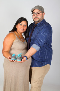 Luis and Evelyn Maternity photos