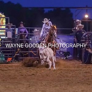 Madison Outhier Breakaway Roping