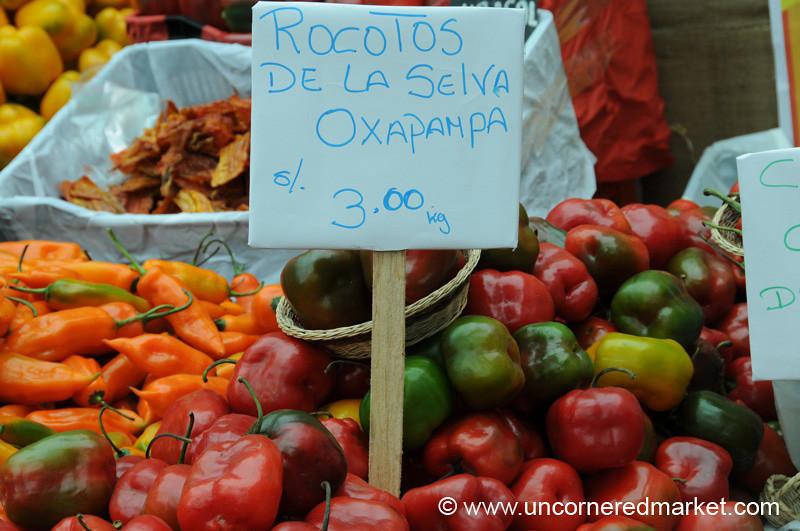 Rocotos De La Selva Oxapampa - Mistura Gastronomy Festival in Lima, Peru