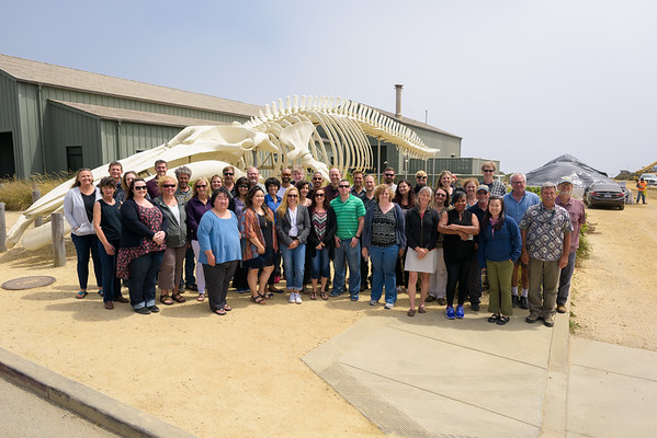 USGS Group Photo @ Seymour Marine Visitor Center, Santa Cruz