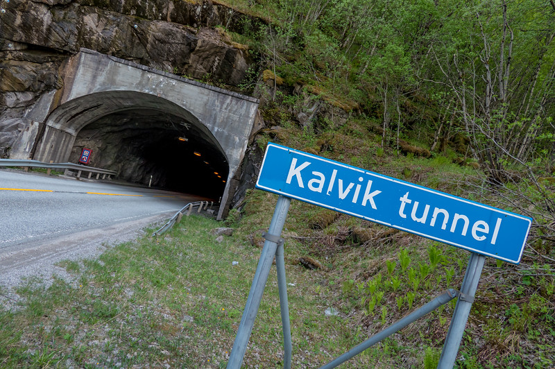 Kalvik tunnel