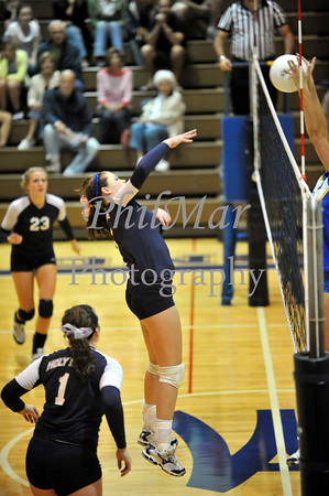 Muhlenberg VS Holy Name High School Volleyball 2010 - 2011