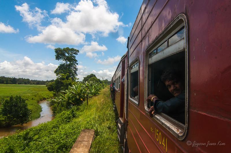 Train ride to Anjanapura