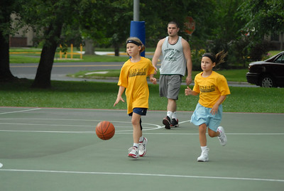 Moorestown B-Ball team Penn Summer 2009