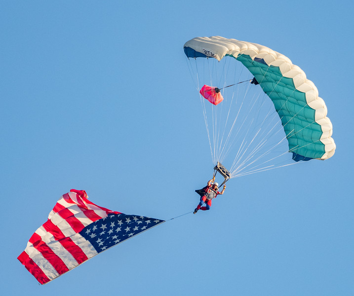 Skydiving into the 2019 Mississippi Valley Fair