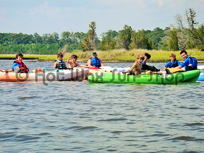 06-26-14 Kayak & SUP Lesson Camp Don Lee