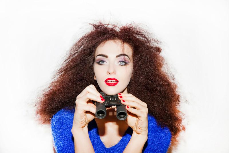 Model: Laura Graham -  Photography: Angela Halpin -  http://www.angelahalpin.com Hair: Leo Ribeiro Make Up: Sarah Jane Lanagan - http://www.sarahlanagan.com Clothes: American Apparel - http://www.americanapparel.net