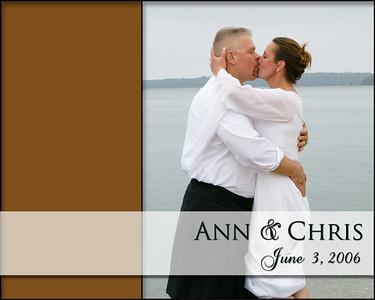 Ann & Chris Album Spread
