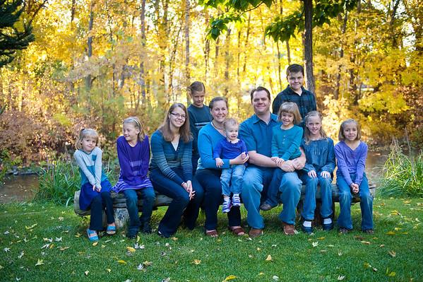 Bartholomew family 2013