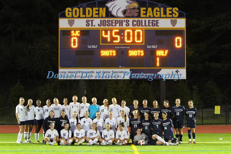 SJC LI Women's Soccer vs SJC Brooklyn 9-20-12