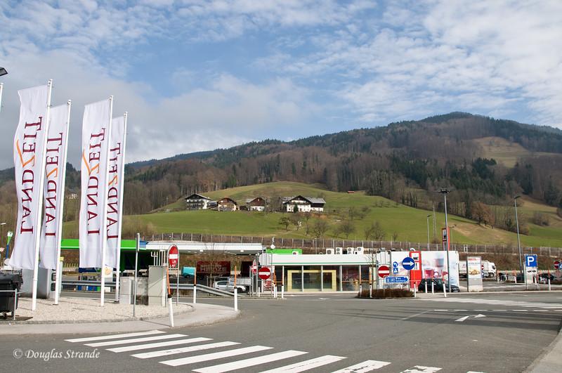 Austrian rest-stop