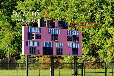 ME (2) Ithaca (3) in OT - Boys Varsity Soccer 9/1/16