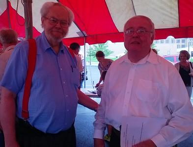 Staff Photos - Fr. Civille's Birthday Celebration