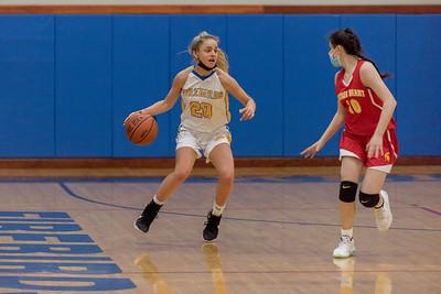 Girls Varsity Basketball - 2021