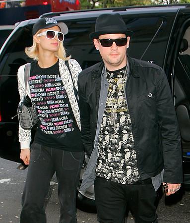 2008-05-07 - Paris Hilton and Benji Madden