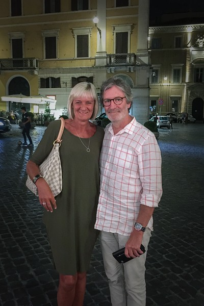 In Rome on our last night