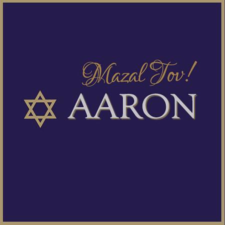 Aaron's B'Mitzvah