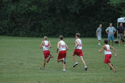 Milford CC Fairfield Freshman race August 27, 2005