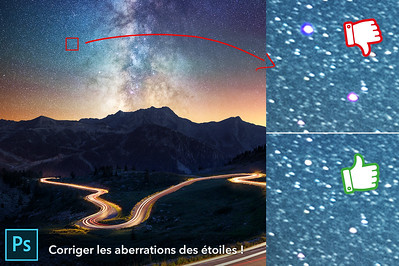 Corriger les aberrations des étoiles