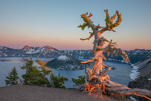Crater Lake National Park - Evening