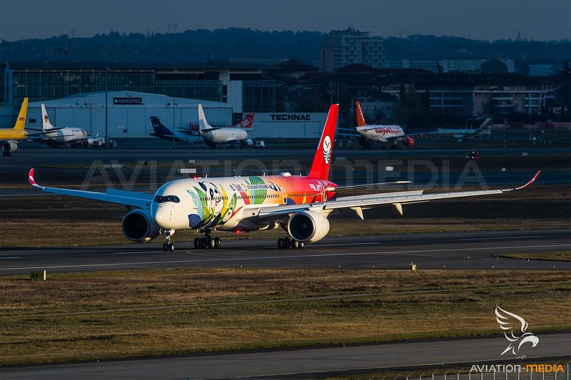 Sichuan / Airbus A350-941 / F-WZFK / Panda Livery