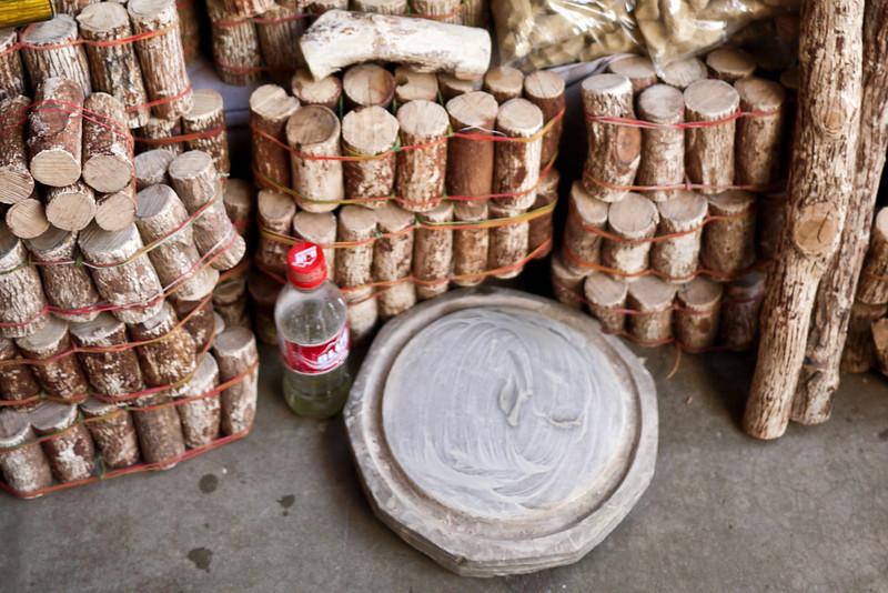 How to make thanaka on sale in Bagan, Burma (Myanmar).