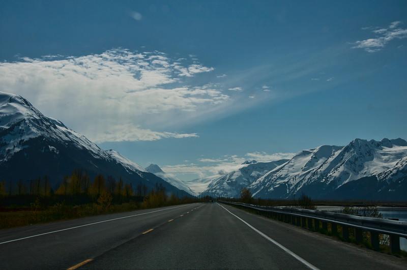 Alyeska highway.  Very beautiful!