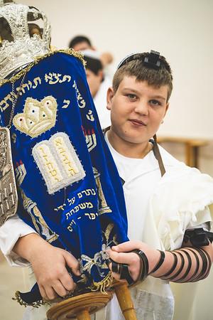 Asaf Bar Mitzva - Torah