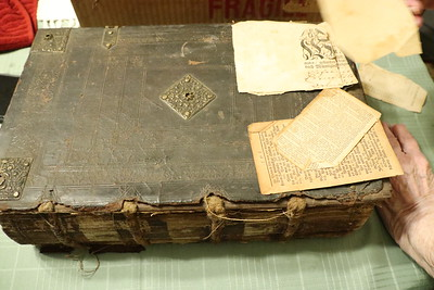 Schweitzer/Sweitzer Family Bible inscriptions