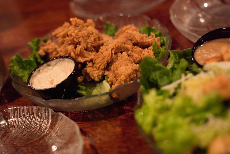 Fellini's, Fried Oysters