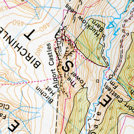 Topographical Views of the Peak District