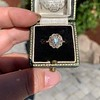 1.97ctw Antique Cluster Ring, GIA G SI2 54