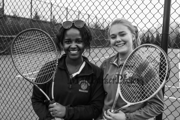 2019-4-29 WHS Girls Tennis vs Spaulding