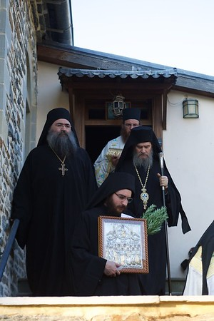 2016 Πανήγυρις της Αναλήψεως του Κυρίου στην Ιερά Μονή Εσφιγμένου