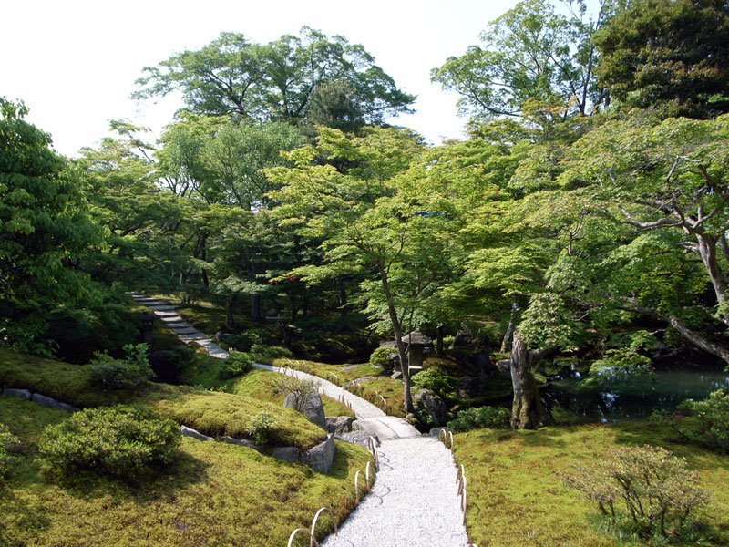 Shugakuin Rikyu Pathway