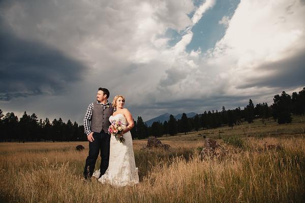 Cindy and Mark   Flagstaff Wedding