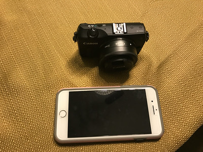 Canon Mirrorless M and M3