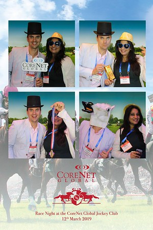 Race Night at the CoreNet Global Jockey Club - 12th Mar 2019