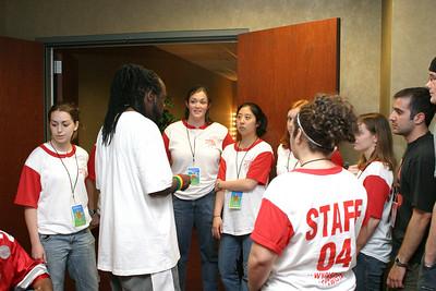 2004 OUAB Big Free Concert - Wyclef Jean Meet & Greet